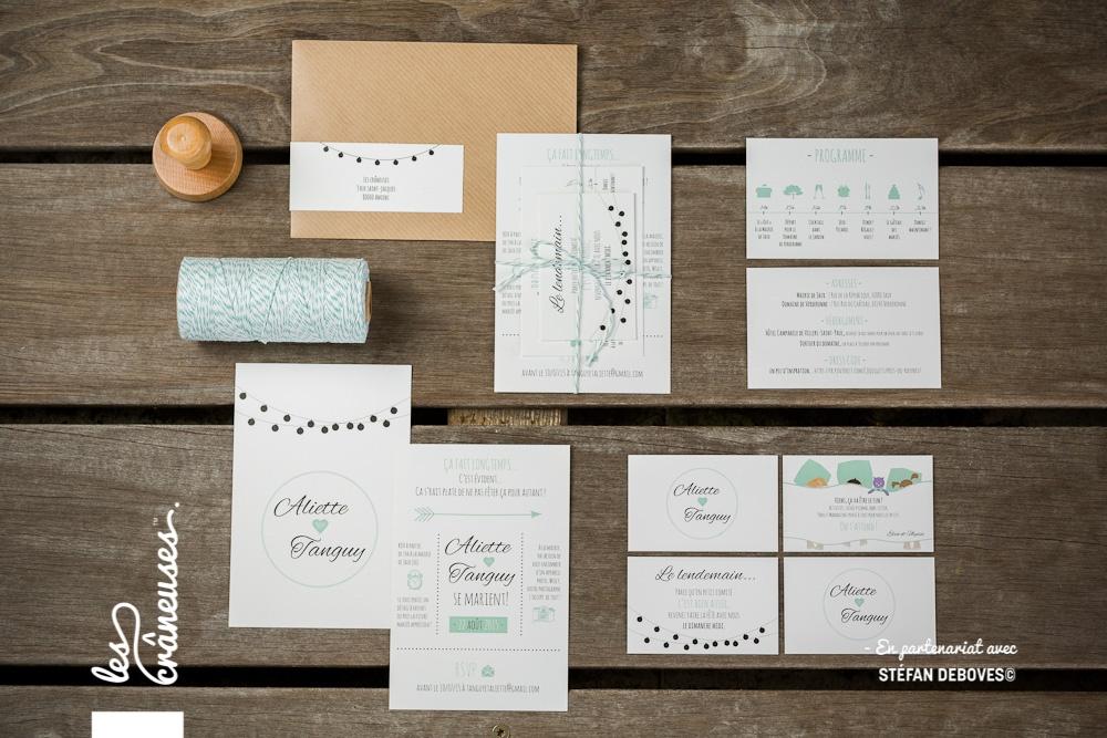 lescraneuses mariage fairepart savethedate guinguette 12 les cr neuses les cr neuses. Black Bedroom Furniture Sets. Home Design Ideas
