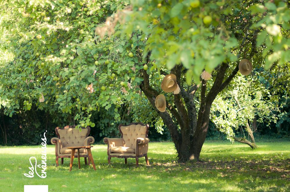 Les crâneuses - Mariage champêtre guinguette en plein air