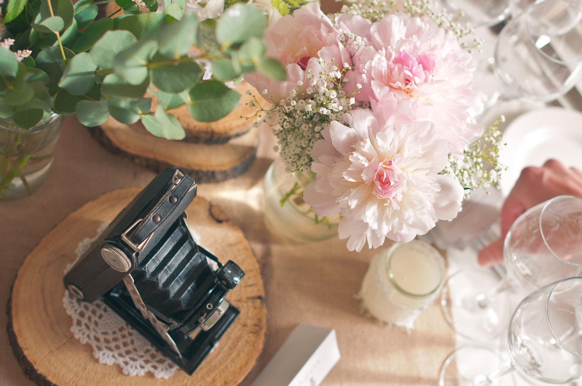 Mariage romantique - Mariage rose poudré - Mariage à Paris - Mariage Château Santeny - Mariage chic - Les crâneuses - Wedding planner - Wedding designer