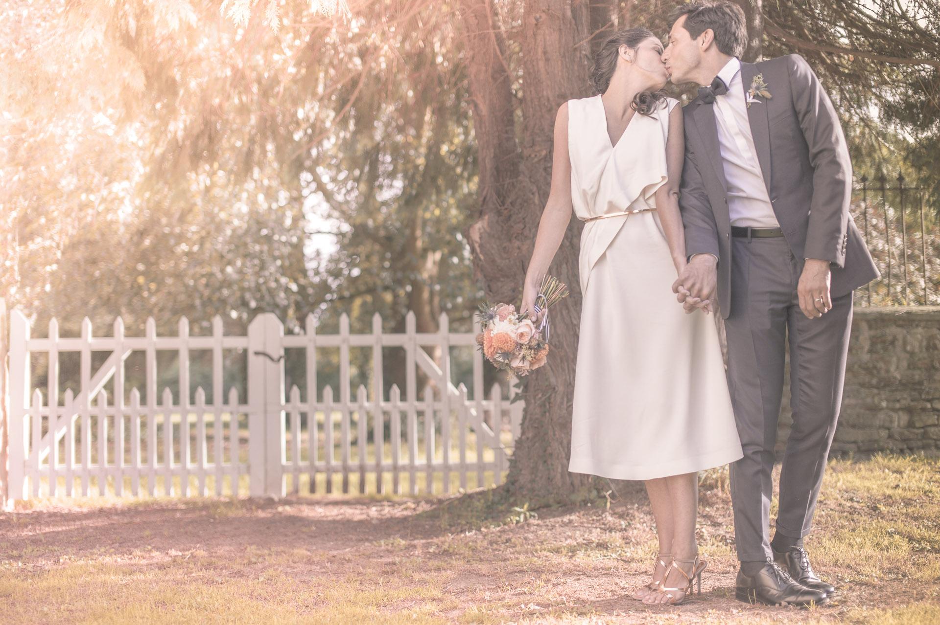 Mariage champêtre chic - Mariage bleu et doré - Mariage au manoir de Chivré - Mariage à Deauville - Mariage chic - Les crâneuses - Wedding planner - Wedding designer