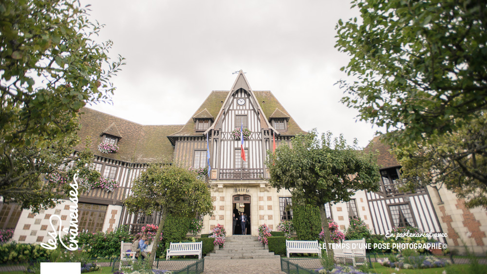 Mariage deauville - Mairie - Les crâneuses - Normandie - Wedding planner
