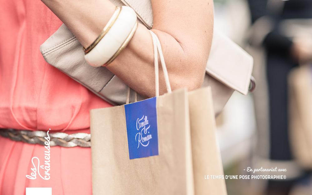 Sac bienvenue mariage - Welcome bag wedding - Normandie - sac kraft mariage - Les crâneuses - Wedding planner