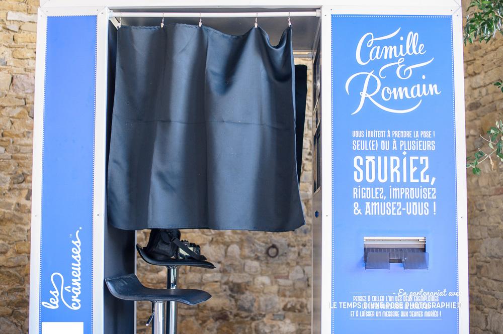 Cabine photos mariage - Les crâneuses - Photobooth - Wedding planner