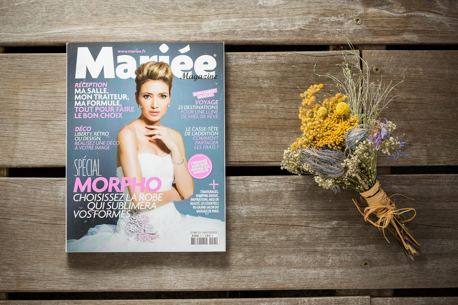 Mariée magazine - presse - les crâneuses
