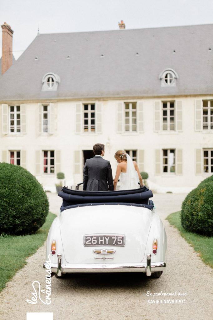 Mariage voiture collection - Les crâneuses - Wedding planner - Mariage Château de Changy - Mariage Loiret
