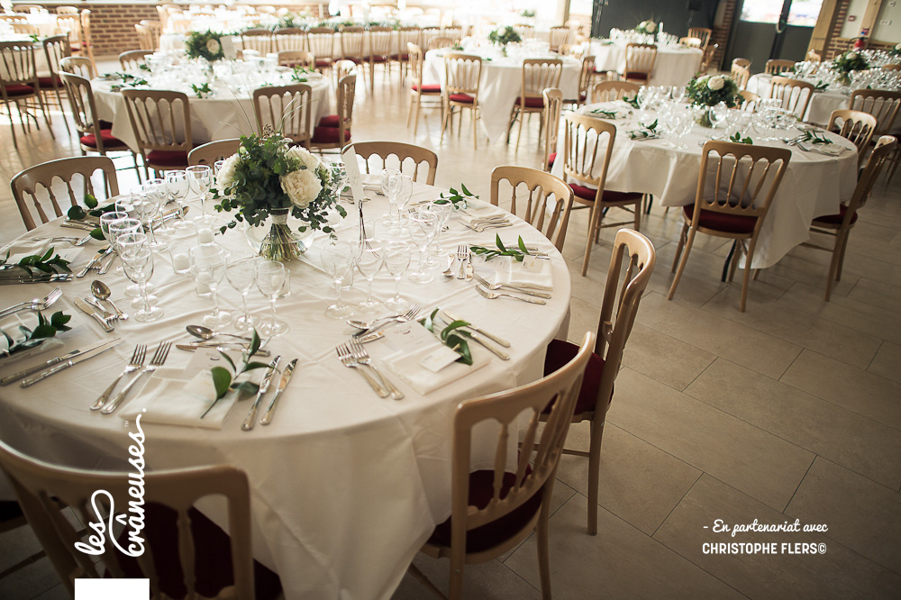 Décoration table mariage - Centre de table végétal - Mariage à Amiens - Les crâneuses