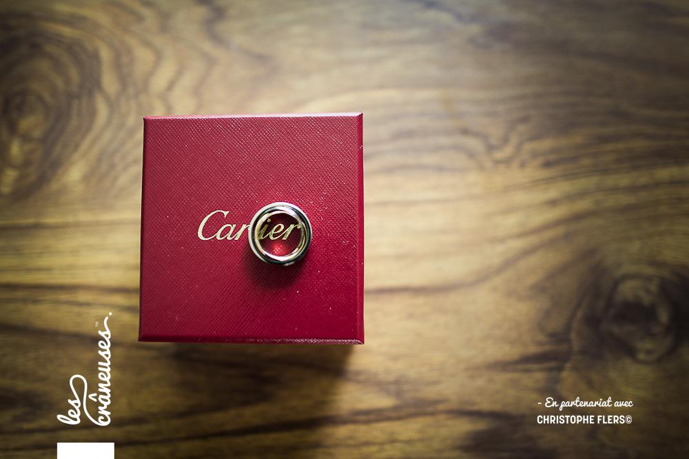 Alliances Cartier - Mariage Amiens - Les crâneuses - Wedding planner
