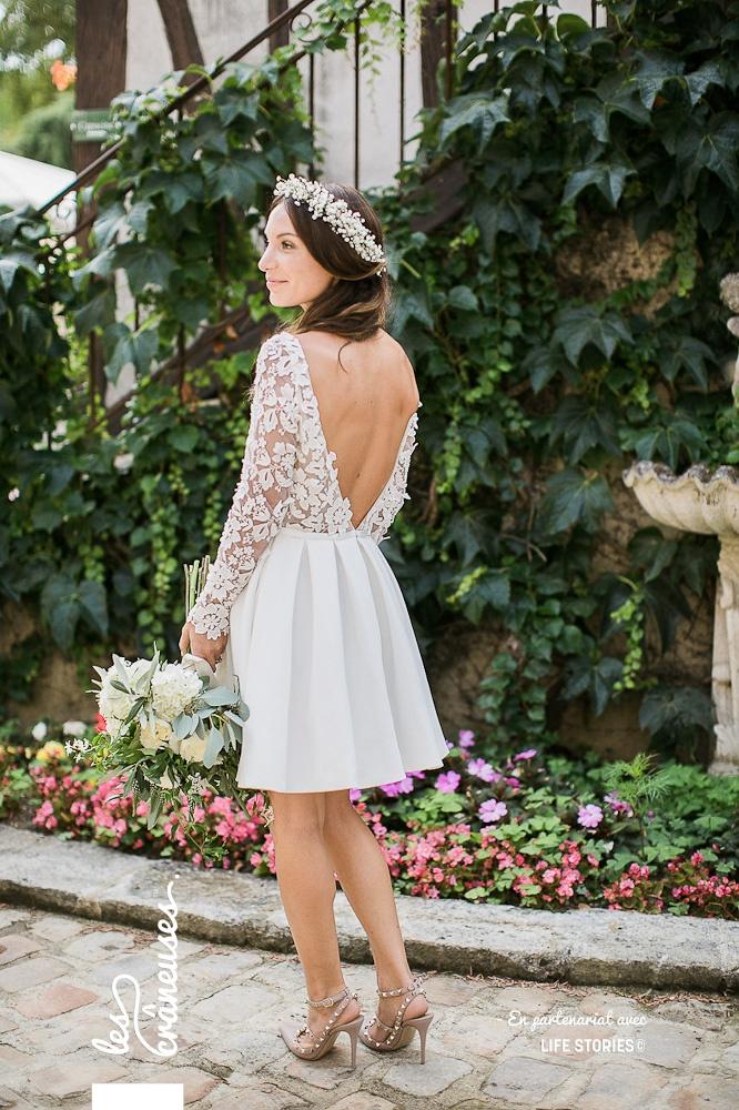 Robe mariée - Rime Arodaky - Les crâneuses - Wedding planner