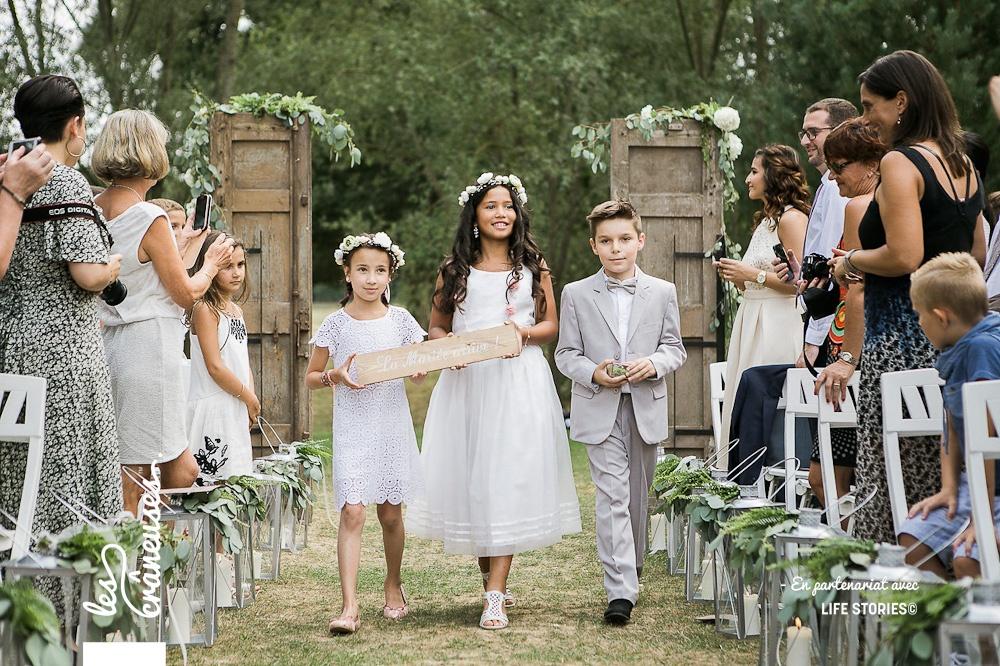 Cérémonie laïque - Décoration - Les crâneuses - Mariage Paris - Wedding planner