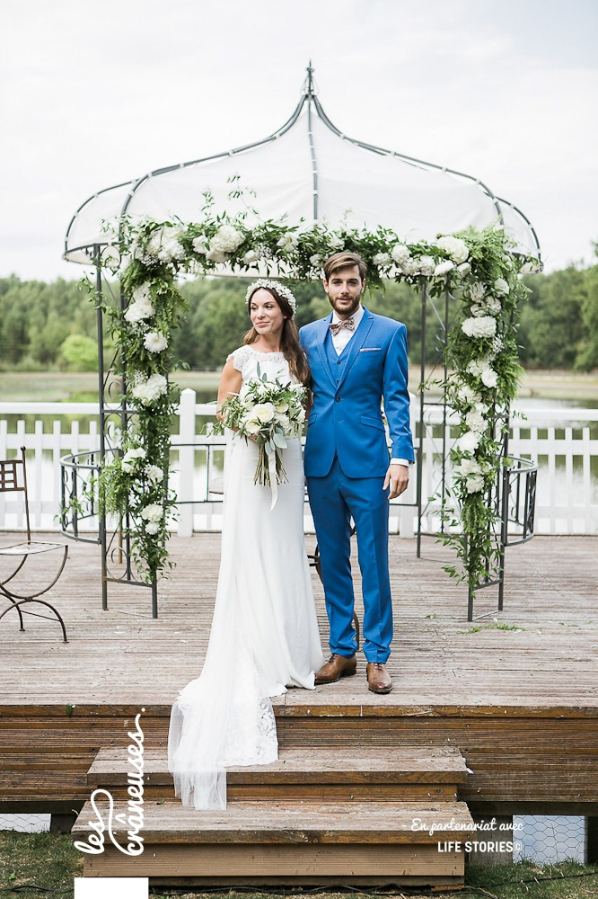 Cérémonie laïque - Décoration - Arche végétale - Les crâneuses - Mariage Paris - Wedding planner