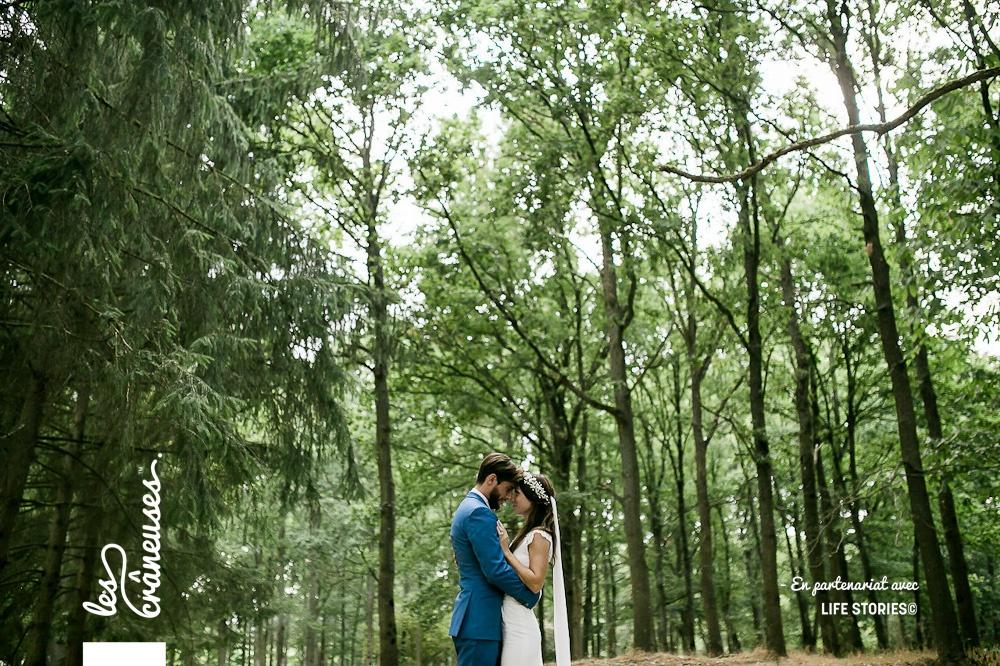 Robe de mariée - Rime Arodaky - Mariage Paris - Les crâneuses - Domaine de la Butte Ronde