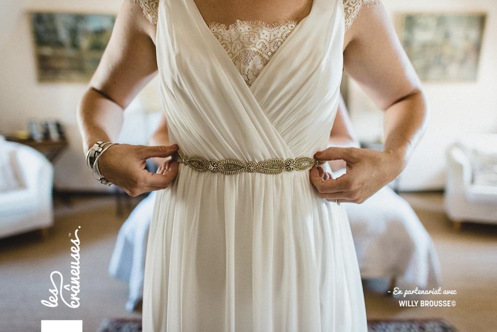 Robe de mariée - mariage Oise - Les crâneuses