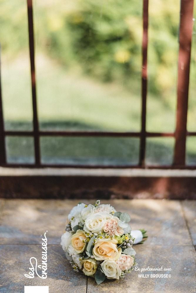 Bouquet mariée - Les crâneuses - Verderonne - Oise - Fleurs pastel