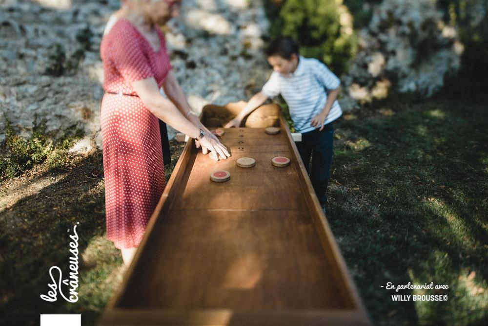 Jeu en bois - Jeu ancien - Mariage