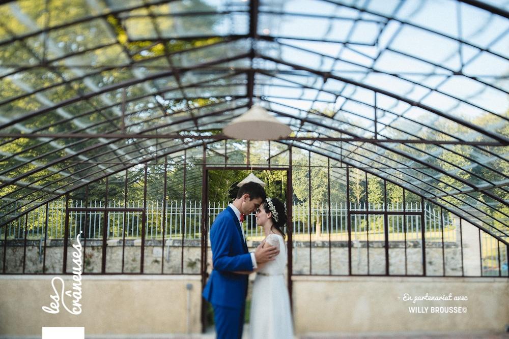 Domaine de Verderonne - Mariage - Serre - Couple - Amour