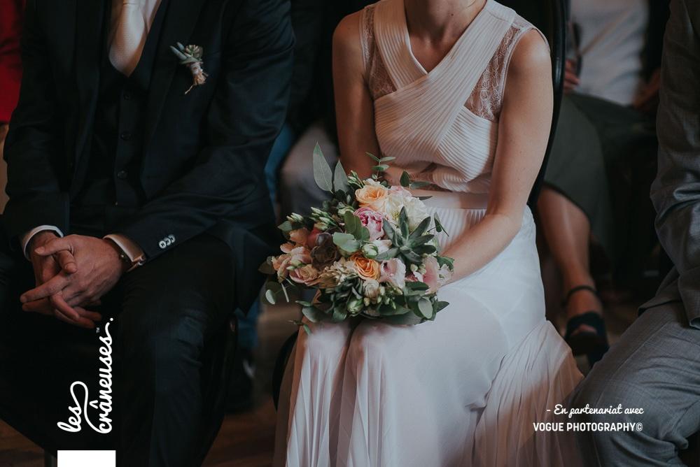 Mariage Amiens - Bouquet pastel - Mariée - Wedding planner - Les crâneuses