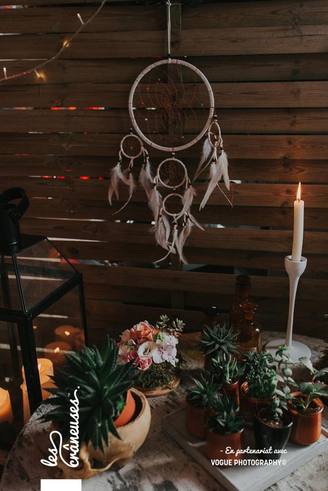 Décoration mariage végétale - Les crâneuses - Wedding planner - Amiens