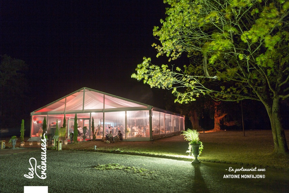 Tente cristal - Mariage - Angers - Wedding planner - Les crâneuses