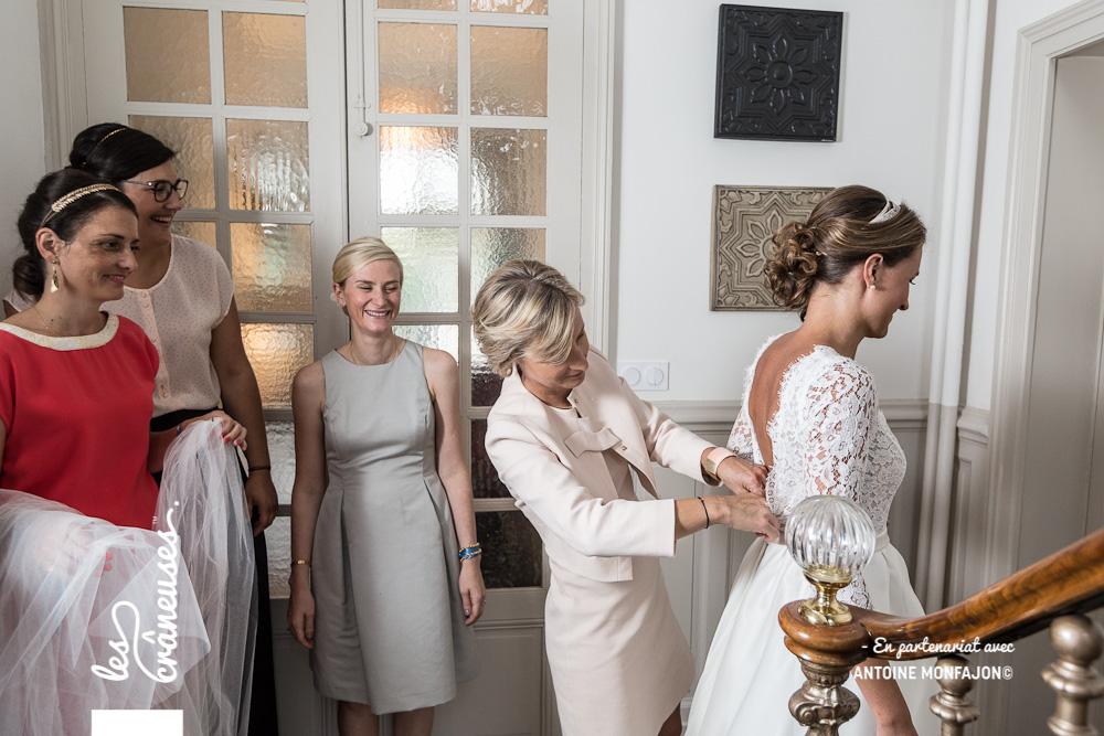 Mariage Angers - préparatifs - Mariée - Robe