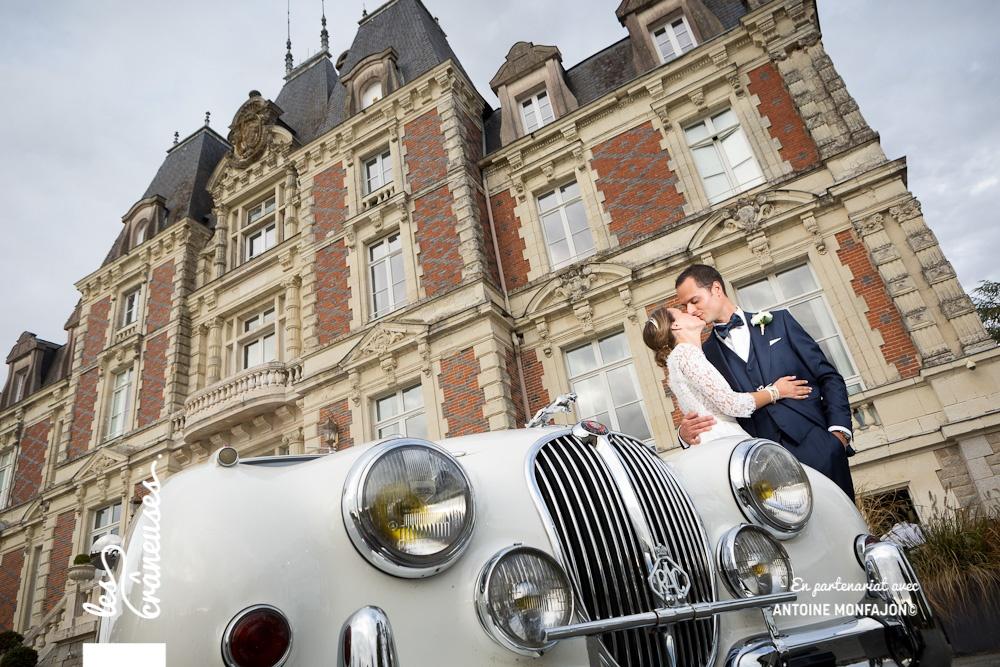 Mariage Angers - Voiture ancienne - Voiture collection - Mariés - Les crâneuses - Wedding planner