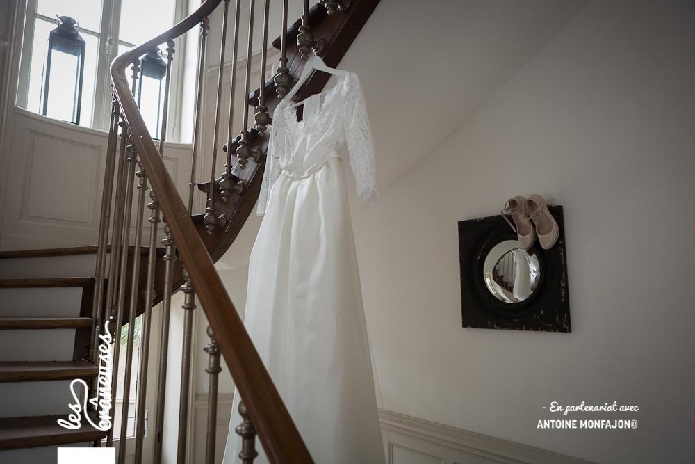 Mariage Angers - Robe de mariée - Les crâneuses - Wedding planner