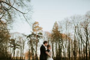 Mariage romantique - Mariage en hiver - Château Couturelle - Mariage chic - Mariage rouge et argent - Les crâneuses - Wedding planner - Wedding designer