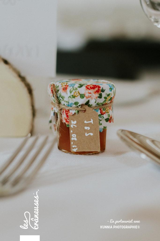Cadeau invité mariage - Confiture - Champetre - Décoration - Les crâneuses - Wedding planner