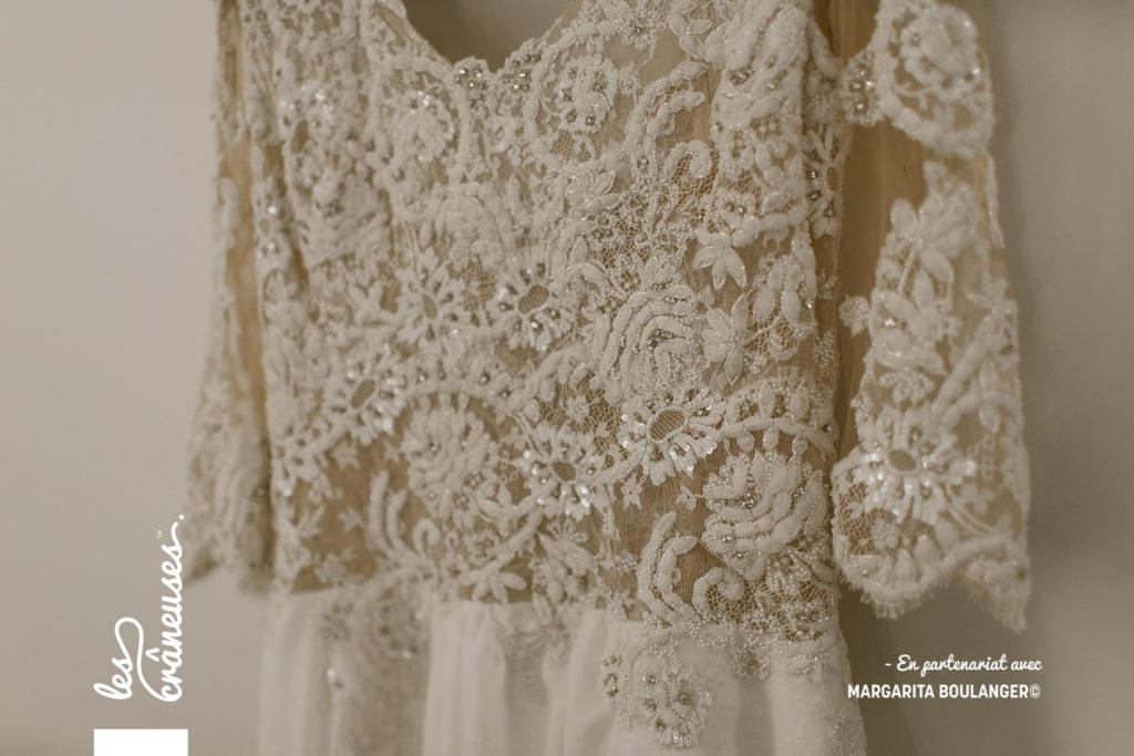 Robe mariée - Claire Joly - Sur mesure- Les crâneuses - Wedding planner - Arras
