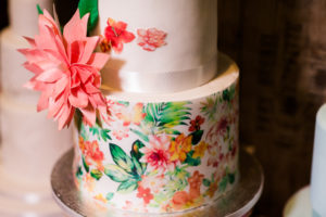 Gâteau flower