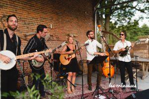 Musiciens - Mariage - Blue grass - Folk - Les crâneuses - Wedding planner