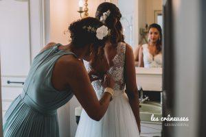 Préparatifs mariée - Domaine Verderonne - Wedding planner Oise - les crâneuses