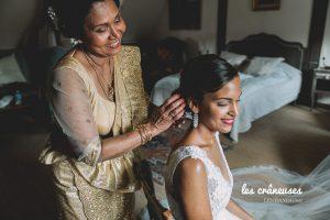 Mariage franco sri lankais - Mariée - Mariage mixte