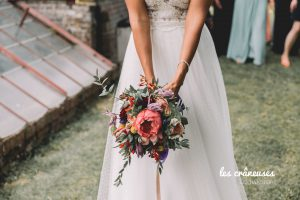 Bouquet mariée - Fleurs tropicales - Bouquet coloré - Mariage mixte - Verderonne