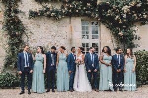 Photo mariage - Témoins - Mariés - Mariage chic - Oise - Wedding planner - Les crâneuses