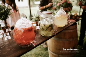 Limonade mariage - Candy bar - Rafraichissement - Décoration
