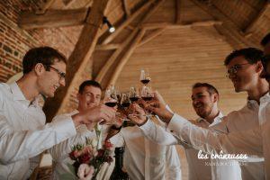 Témoins mariage - Team groom