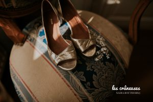 Mariage - Préparatifs - Chaussures mariée