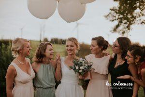 Coordination mariage - Domaine Traxène - Nord - Séance photo - Témoins - Team bride - Les crâneuses