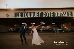 Aérodrome - Mariage - Le Touquet - Cote d'Opale - Hélicoptère mariage