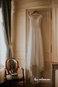 Préparatifs mariée - Domaine Traxène