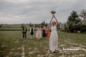 Lancé bouquet - Mariage - Mariée - Fleurs