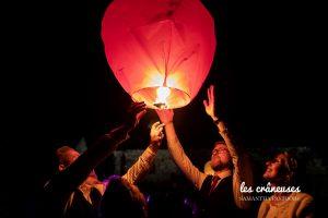 Lancé lanterne mariage - Animation - Lumière