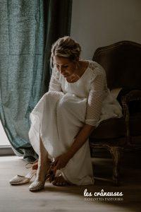 Robe mariée - Laure de Sagazan - Préparatifs mariée