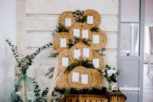 Décoration mariage végétale - Plan de table - Dame jeanne mariage - Plan de table original - Les crâneuses - Wedding designer