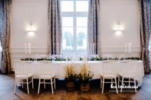 Décoration mariage végétale - Table d'honneur - Décoration table végétale - Les crâneuses - Wedding designer - décoration mariage folk - Herbe pampa