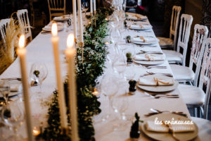 Décoration mariage végétale - Table d'honneur - Décoration table végétale - Les crâneuses - Wedding designer