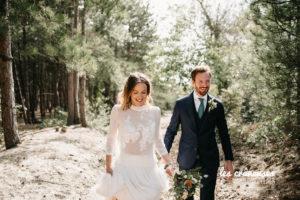 Mariage Le Touquet - Haec Otia - Organisation mariage Cote d'Opale- Couple - Foret pins - Les crâneuses