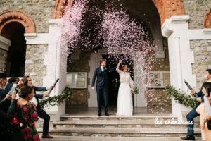 Mariage Le Touquet - Haec Otia - Organisation mariage Cote d'Opale- Eglise - Sortie des mariés - Les crâneuses