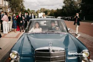 Mariage Le Touquet - Haec Otia - Organisation mariage Cote d'Opale- Eglise - Voiture de collection - Les crâneuses