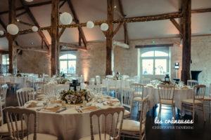 Mariage Grange de Montmartre - Mariage champêtre - Décoration salle mariage - Les crâneuses